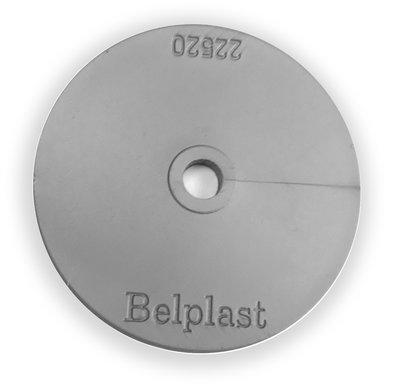 Kunststof Rozette 50mm Transparant - 100 stuks