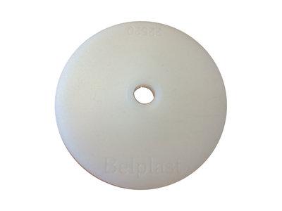 Kunststof Rozette 70mm Transparant - 100 stuks