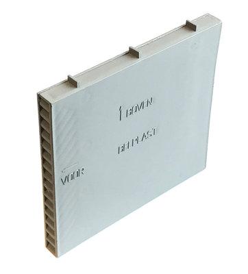 Spouwmuurbeluchters Waalformaat 90MMx10MM - 100 stuks