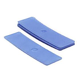 Glasblokjes 2mm blauw (500 st.)