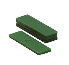 Glasblokjes 5mm groen (1000 st.)