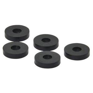 Afdichtingsring Rubber 14MM Zwart - 100 stuks