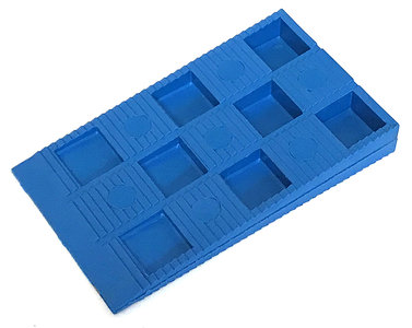 stelwig blauw 70x40