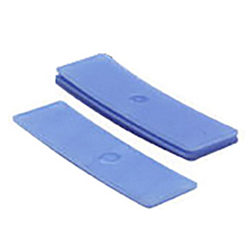 Glasblokjes 2mm blauw