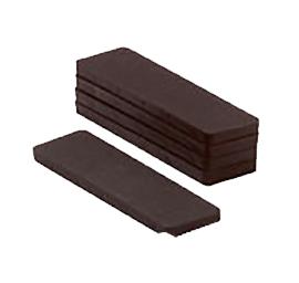 Glasblokjes 6mm zwart