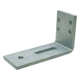 Hoekanker zwaar 100x170mm 70x10 Thermisch Verzinkt