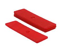 Glasblokjes 3mm rood
